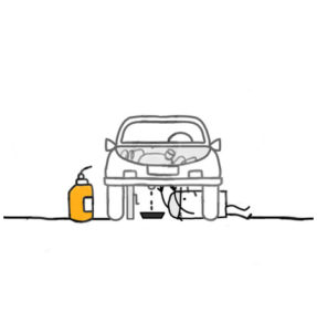 1198845-clipart-of-a-stick-man-mechanic-performing-an-oil-change-royalty-free-vector-illustration